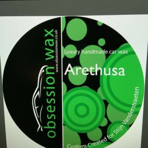 Arethusa label 1