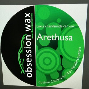Arethusa label 3